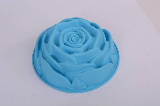 """Силиконовая форма для выпечки """"Роза""""(1 шт), фото 2"""