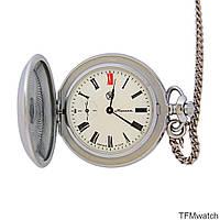 Молния карманные механические часы СССР Знак качества, фото 1
