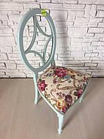 Винтажный деревянный стул без подлокотников, новый, из Италии