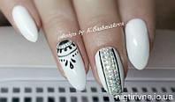 Наращивание ногтей гелем, художественная роспись ногтей