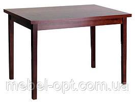 Обеденный стол СО-260 Жанет, раскладной обеденный стол 1100(1470/1840)х700, цвет орех