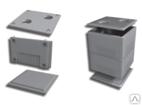 Тепловые камеры железобетонные КС2