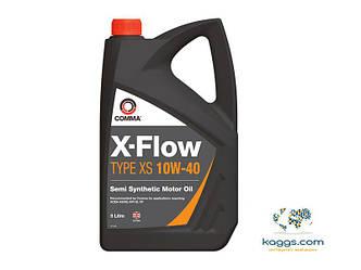 Полусинтетическое моторное масло Comma X-FLOW Type XS 10w40 5l