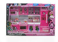 Кухня Monster High музыкальная, светится, на батарейках