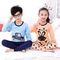 Детская пижама для девочки и мальчика 5-9 лет