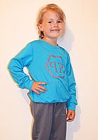 Модный подростковый костюм для девочки, размеры 128-164