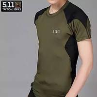 Спортивные футболки. Стильные мужские футболки.Тактические футболки 5.11. Футболка 5.11.