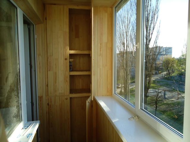 окна на балконе