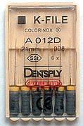 K - Files 08 21 mm Colorinox DENTSPLY MAILLEFER (К-файл 08 21 мм Майлифер)