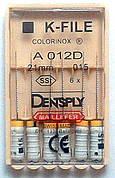 K - Files 15 21 mm Colorinox DENTSPLY MAILLEFER (К-файл 15 21 мм Майлифер)