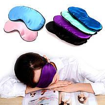 Маска для сна и секса атласная, фото 2