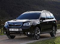 Силовые обвесы Subaru Forester с 2013 г., кенгурятники и пороги