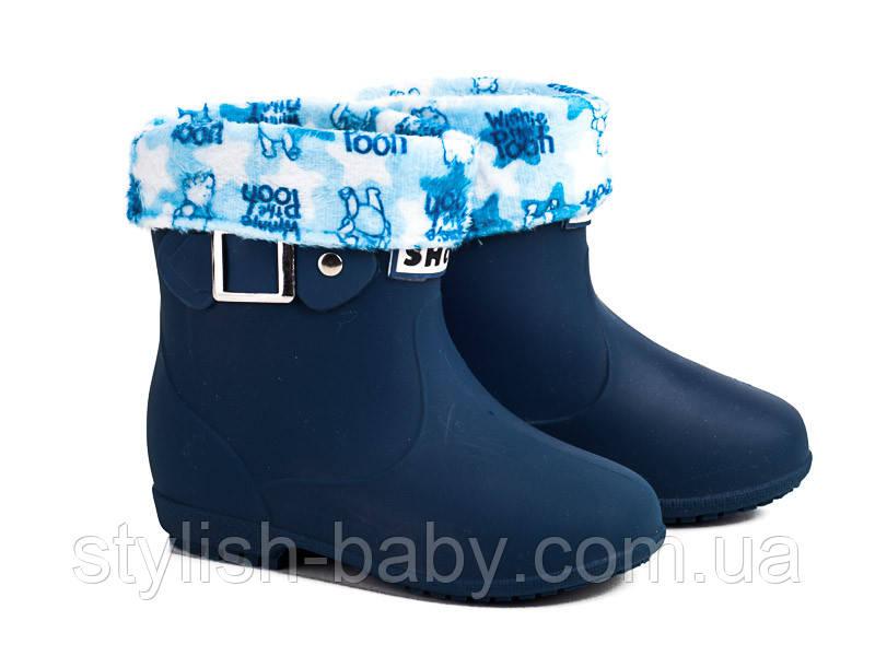 Обувь для непогоды оптом. Детские резиновые сапоги бренда ВВТ для мальчиков (рр. с 26 по 30)