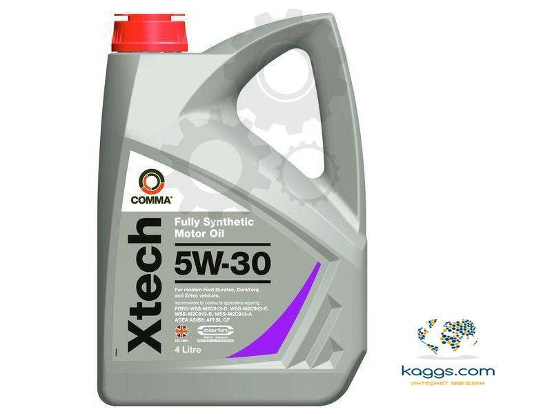 Cинтетическое моторное масло Comma XTECH 5w30 4l