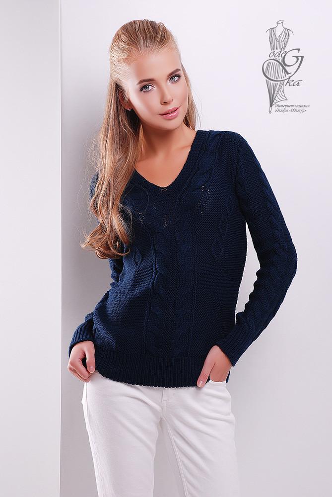 Красивые женские свитера Цветана-1 из шерстяной нити