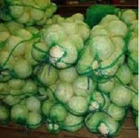 Сетка овощная 40 кг - зеленая для капусты и зелени