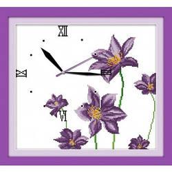 Часы Цветочный аромат