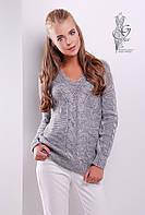 Красивые женские свитера Цветана-2 из шерстяной нити