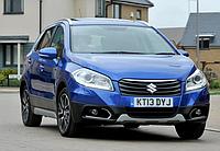 Силовые обвесы Suzuki Sx4 S-cross с 2013 г., кенгурятники и пороги