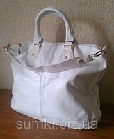 Кожаные сумки белые, Распродажа, фото 1