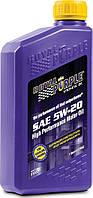 Моторное авто масло Royal Purple API 5w-20 фасовка 0.946л /1 кварта / Royal Purple API