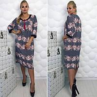 Платье (58, 60, 62, 64) — масло купить оптом и в Розницу в одессе  7км