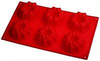 7102 Короны 6-ти 300*170, кексы 75*40мм, кондитерские принадлежности