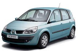 Накладки на пороги Renault Scenic 2 (2003-2009)