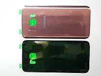 Крышка задняя Samsung G935F, Galaxy S7 Edge розовая original.