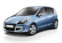 Накладки на пороги Renault Scenic 3 (2009+)