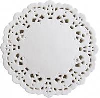 Салфетка Ажурная Ø 90мм под чашку / капкейков 100шт, кухонная посуда
