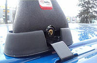 Багажник для гладкой крыши Amos Koala K-I, 2 поперечины 120 см, для Dacia/ Renault Logan и др.