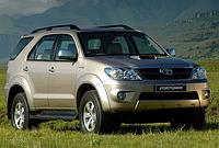 Силовые обвесы Toyota Fortuner с 2006 г., кенгурятники и пороги