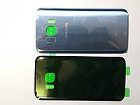 Крышка задняя Samsung G930F, Galaxy S7 небесно-голубая original.