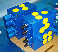 Гидрораспределитель клапанно-золотниковый Р200.3.000 для экскаваторов ЭО-2621, ЭО-2626