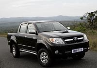 Силовые обвесы Toyota Hilux с 2006-2015 г., кенгурятники и пороги