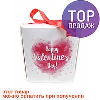 Печенье с предсказаниями Счастливого Дня Валентина / Оригинальные подарки