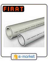FIRAT - Труба KOMPOZIT - д.20мм труба полипропиленовая со стекловолокном для отопления и воды