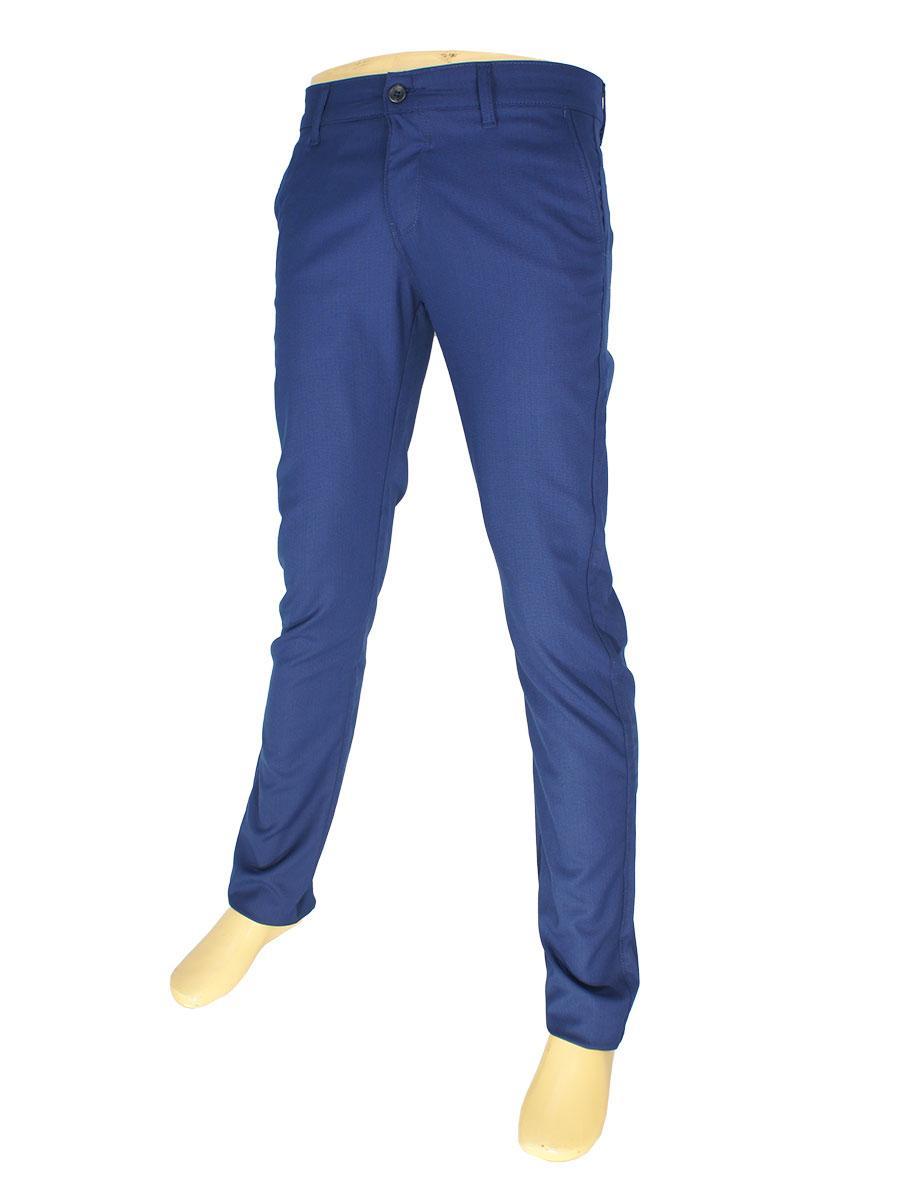 Мужские брючные джинсы NAX 170-5158 в темно-синем цвете