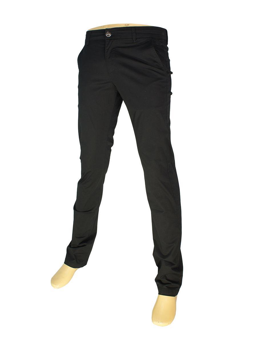 Черные мужские джинсы X-Foot 170-1786