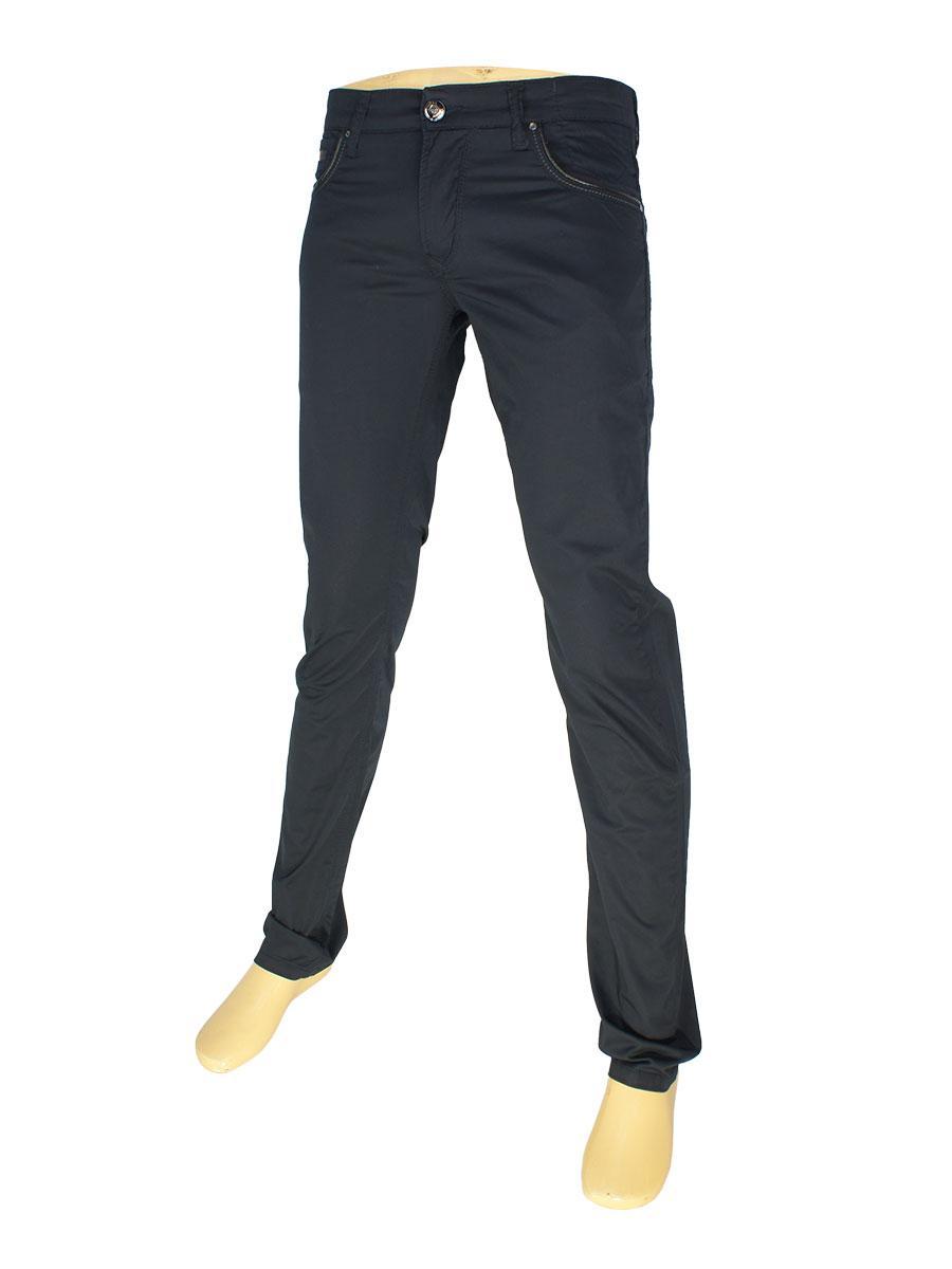 Мужские джинсы  X-Foot 261-2026 в темно-синем цвете