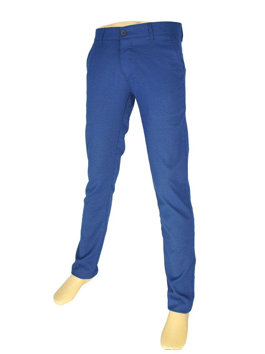 Мужские брючные джинсы NAX 170-5157 синего цвета