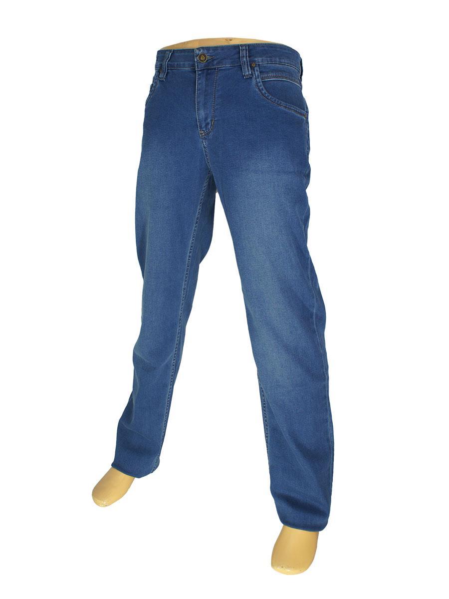 Классические мужские джинсы Mirac M:2561-P P.N.34 в синем цвете