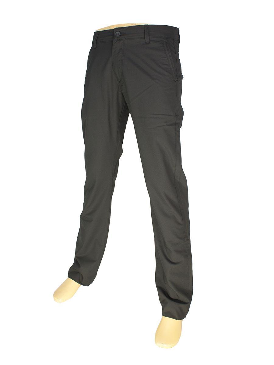 Мужские брючные джинсы X-Foot 150-3035 в черном цвете