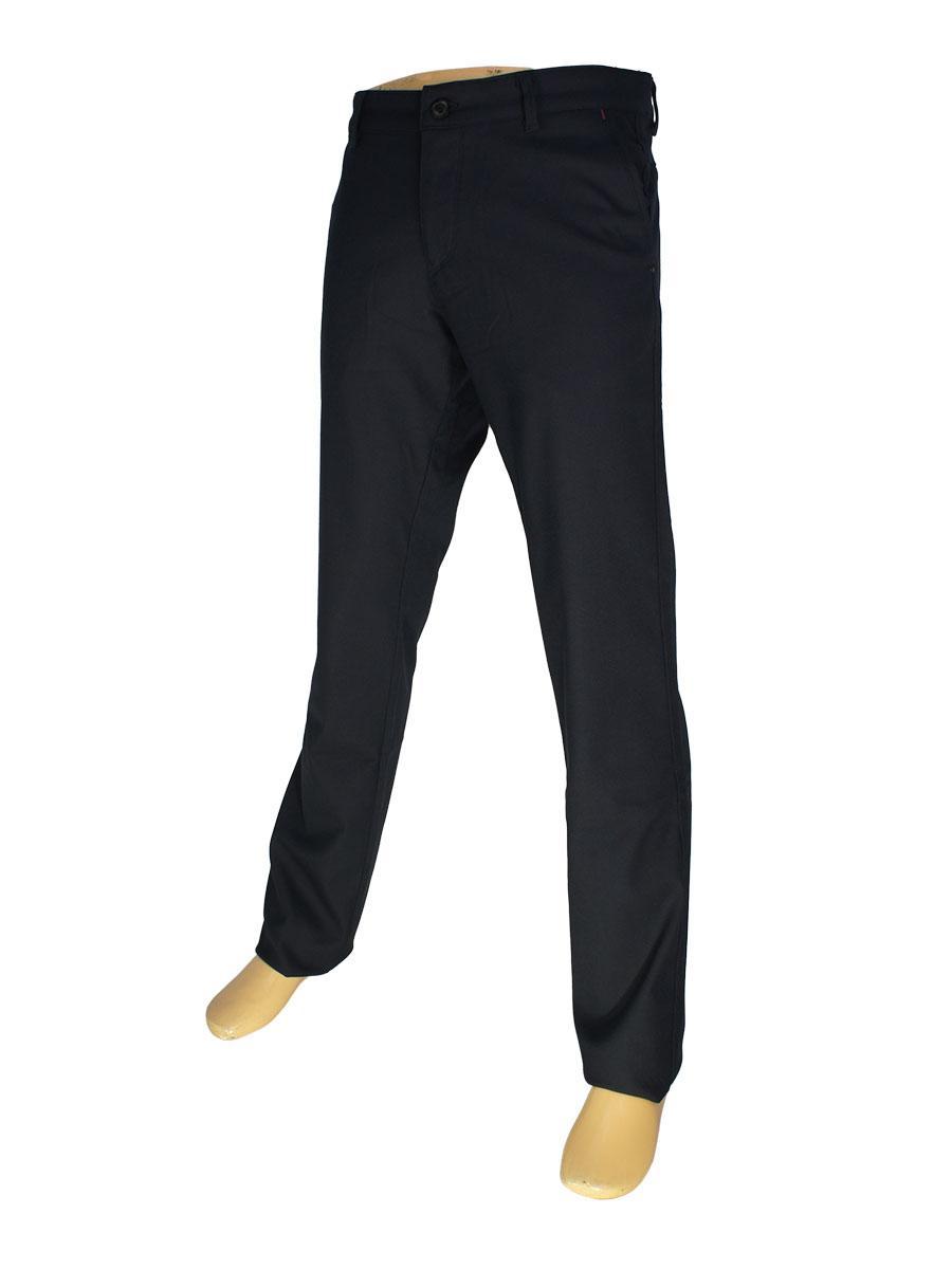 Брючные мужские джинсы Ricoss 8023 в темно-синем цвете