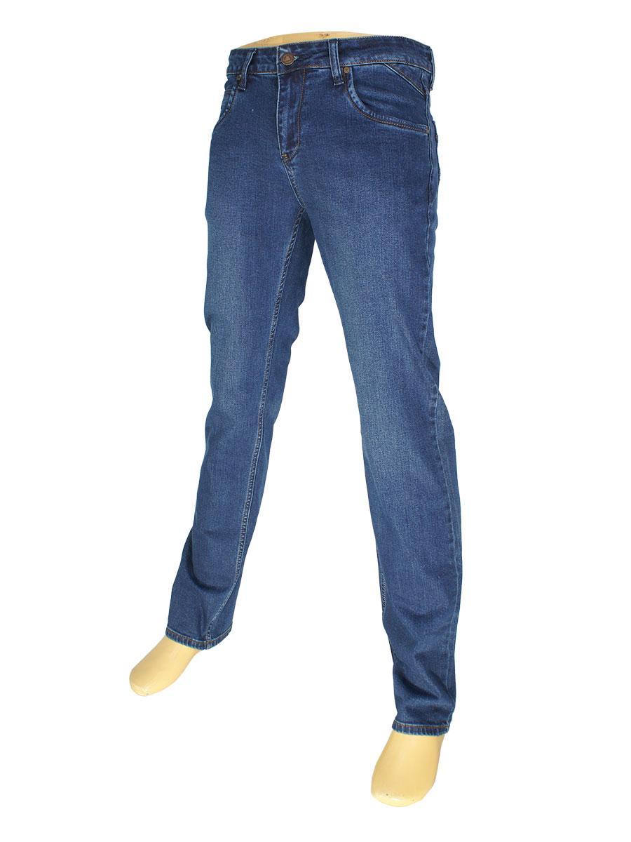 Чоловічі класичні джинси Mirac M:2586-P P. N. 178 темно-синього кольору