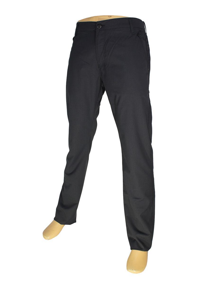 Мужские брючные джинсы Cen-cor CNC-3057 темно-синего цвета