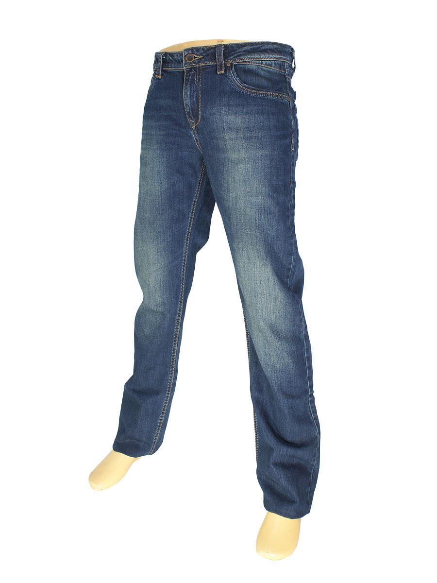 Классические мужские джинсы Differ E-2350 SP.NO 0293 в синем цвете