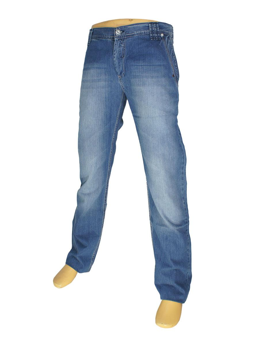 Стильные мужские джинсы Cen-cor CNC-1056 в синем цвете