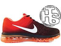 Мужские кроссовки Nike Air Max 2017 Red/Black/Orange 849559-100